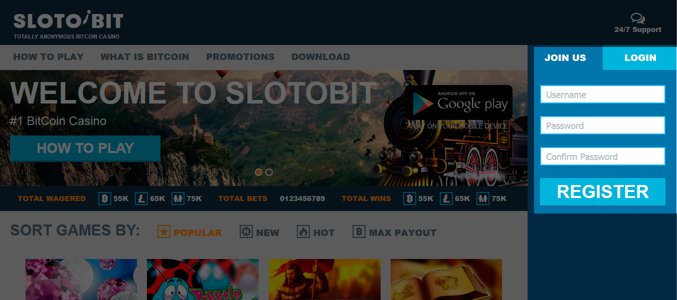 How to play at bitcoin casino slotobit we do not ask you to enter any personal information but you can optionally enter your e mail address to customize your profile settings in case you will ccuart Choice Image